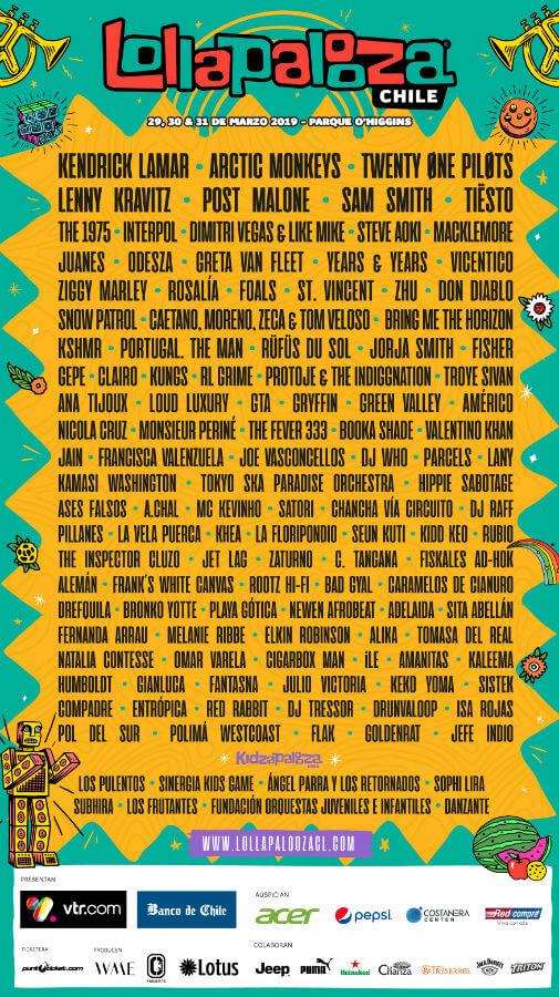 Lollapalooza Festival Chile