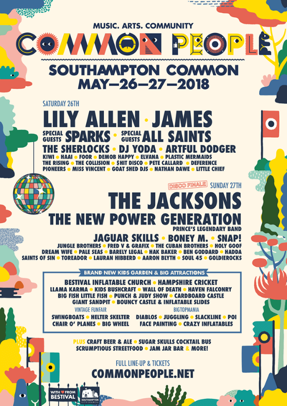 Common People 2019 southampton