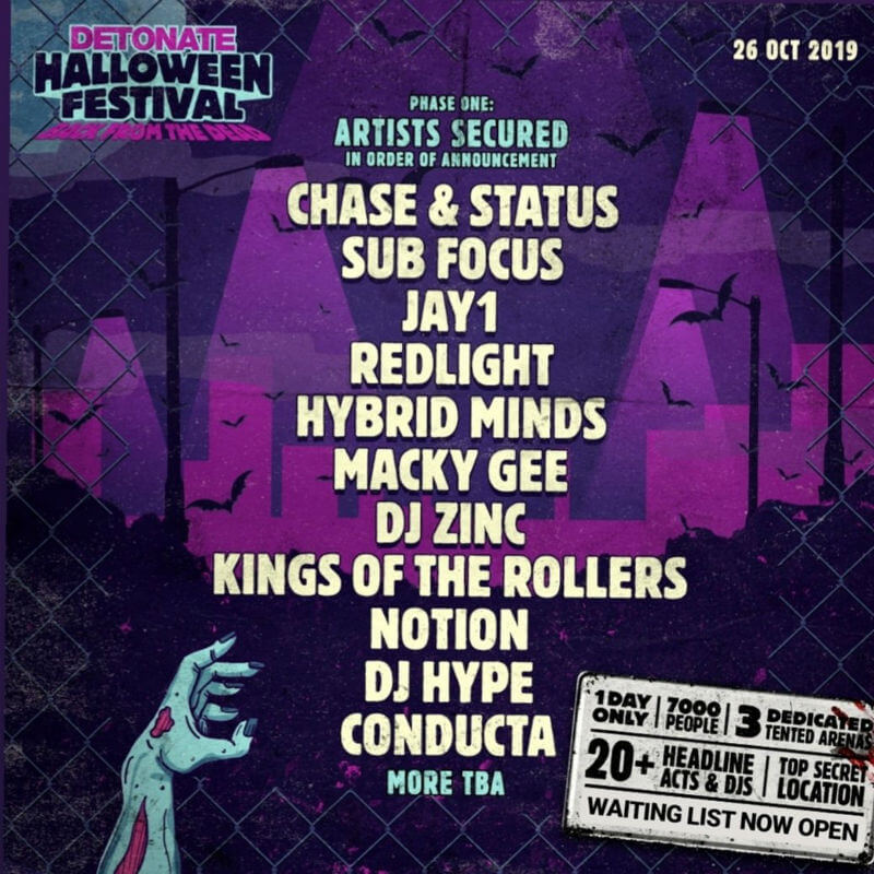 Detonate Halloween Festival