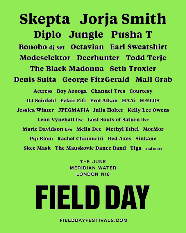 Field Day Festival London 2019