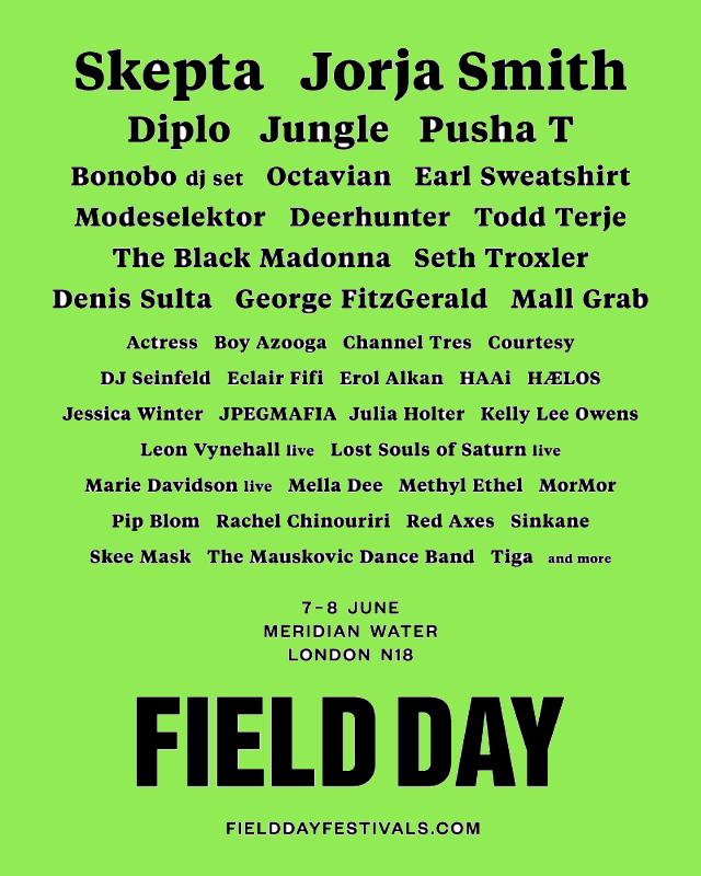 Field Day Festival London 2019