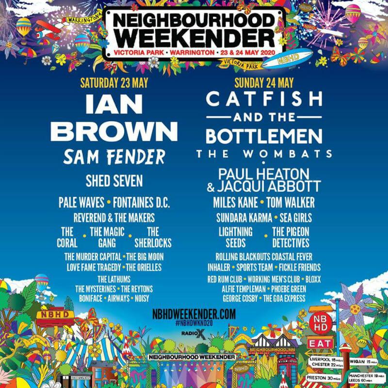 Neighbourhood Weekender lineup