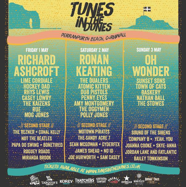 Tunes In The Dunes Festival 2020