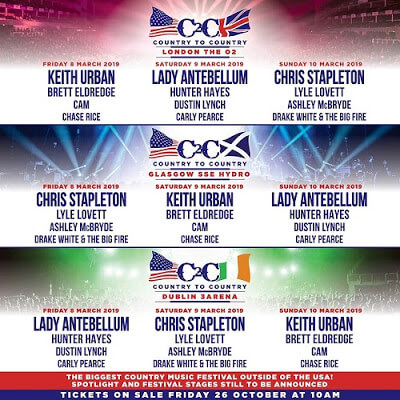 Country To Country Fest Dublin 2019