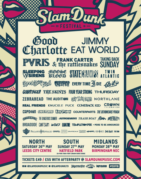 slam dunk hatfield 2018