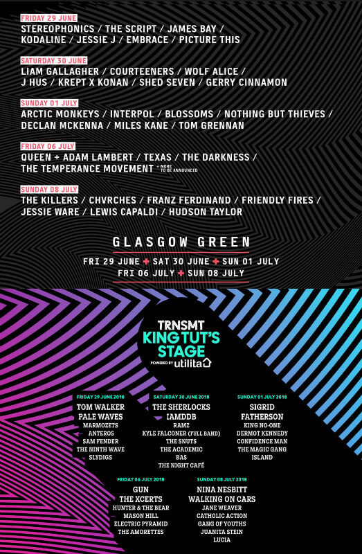 TRNSMT Festival glasgow 2018