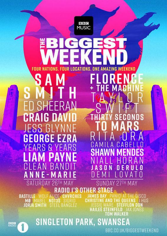 Biggest Weekend Swansea lineup