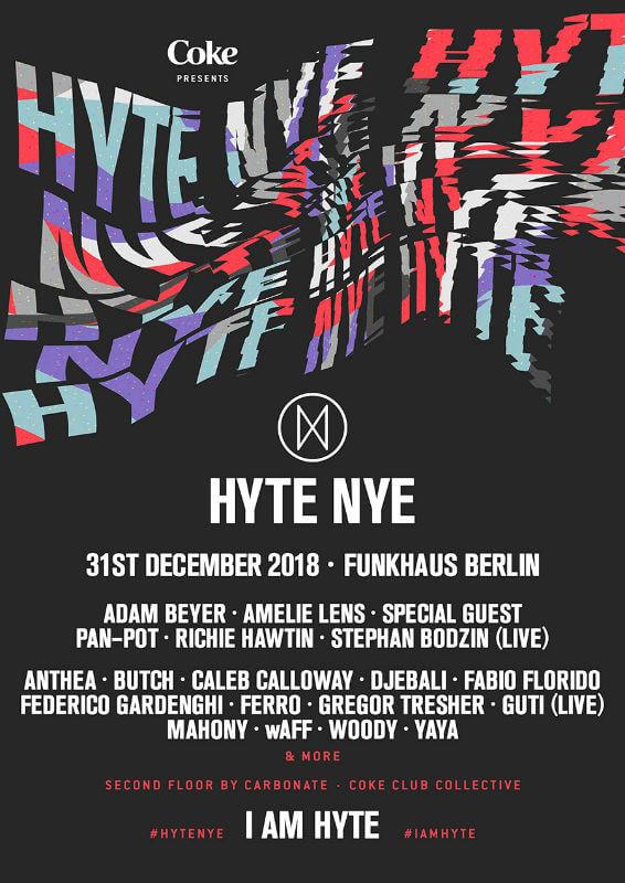 HYTE NYE Berlin 2018